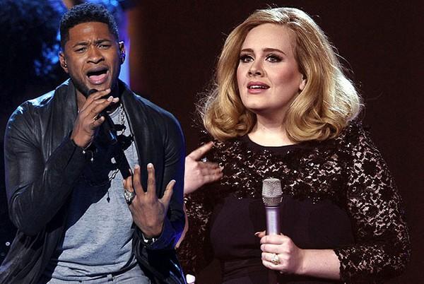Slika 134 Usher želi duet sa Adele