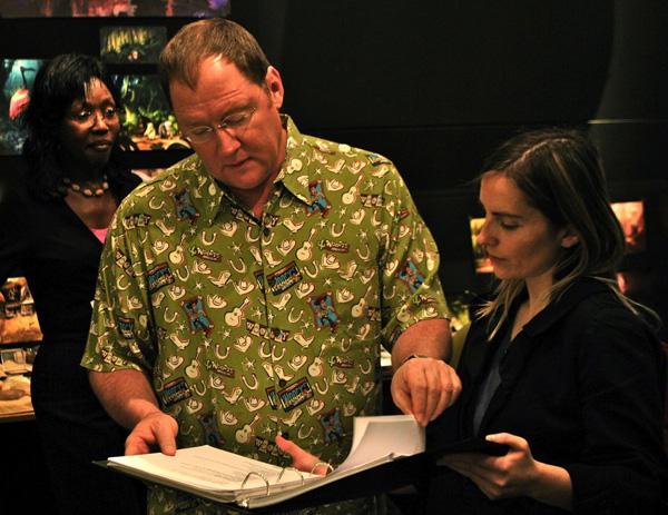 Slika 2 Krupnim koracima napred mars Stil moćih ljudi: John Lasseter, na vrhu piramide u havajci