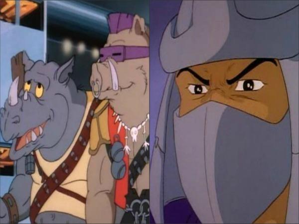 """Slika 419 Animirani petak: """"Nindža kornjače"""""""