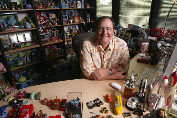 Slika 5 To je prava kancelarija Stil moćih ljudi: John Lasseter, na vrhu piramide u havajci
