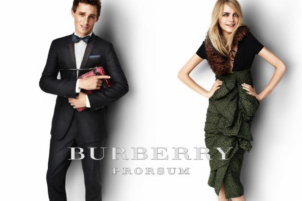 Slika 5 Burberry Prorsum: Seksi proleće uz britanske zvezde