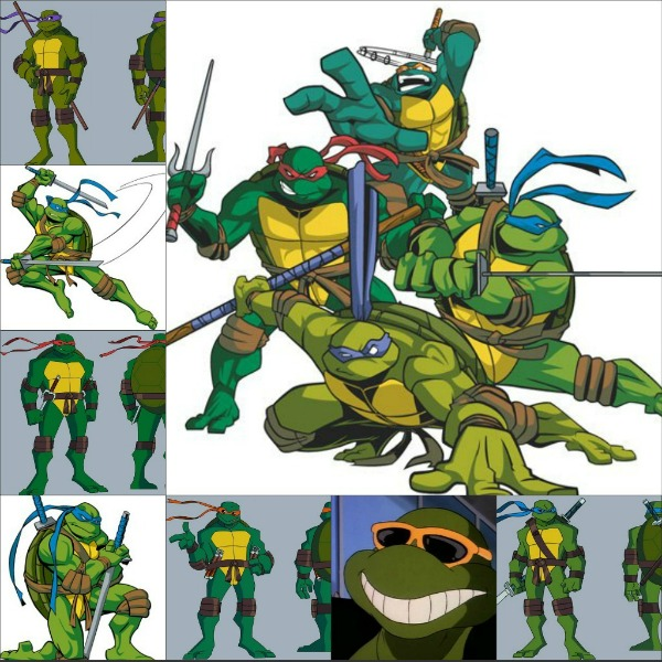 """Slika 515 Animirani petak: """"Nindža kornjače"""""""