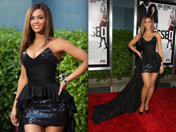 Slika9 Beyonce Top 10 dama u maloj crnoj haljini