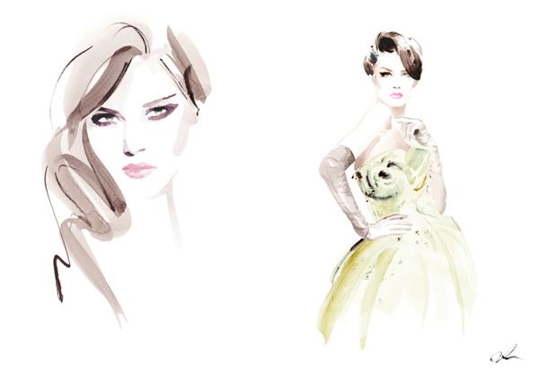 Untitled11 1 Modna ilustracija: Christian David Moore