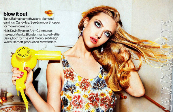 amanda seyfried hair Glamour US: Kada Amanda Seyfried osvaja