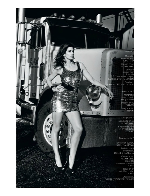 "cindy crawford10 ""French Revue de Modes"": Nijedna kao Cindy"