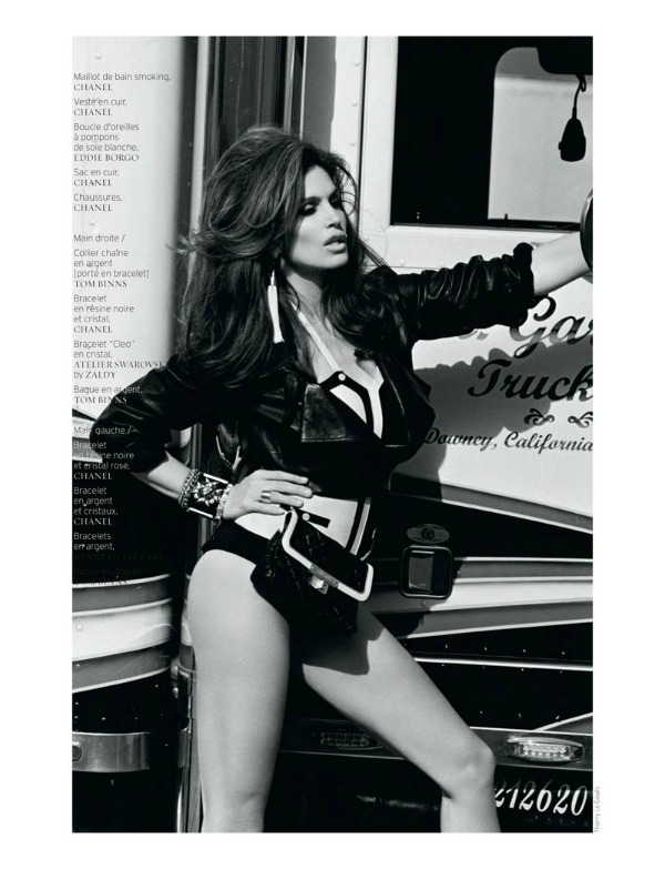 "cindy crawford2 ""French Revue de Modes"": Nijedna kao Cindy"