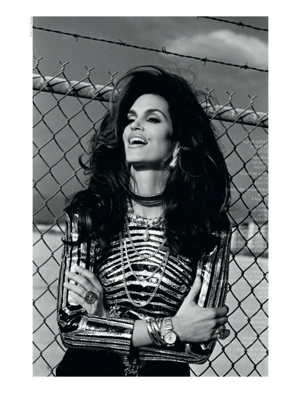 "cindy crawford6 ""French Revue de Modes"": Nijedna kao Cindy"