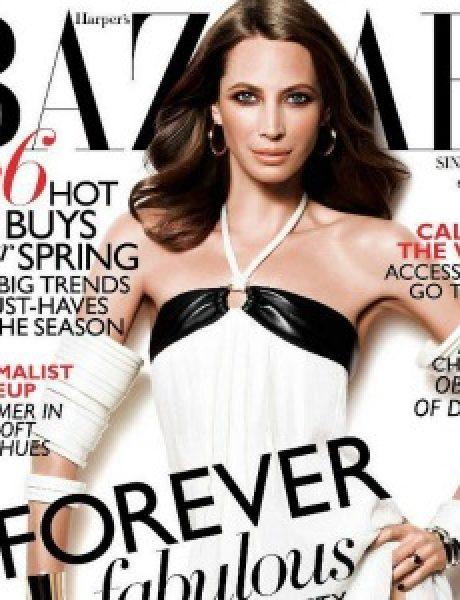 """""""Harper's Bazaar Singapore"""": Večno mlada Christy Turlington"""