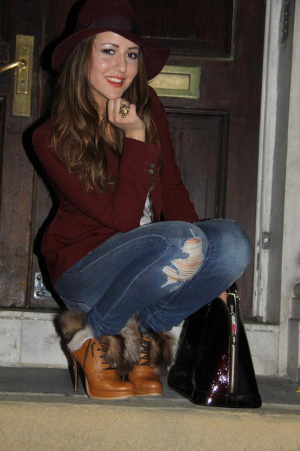 f805a83e Modni blogovi: Džins i kožne jakne