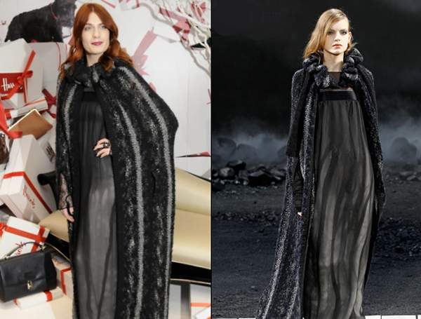 florence welch in chanel harrods winter sale One nose: Chanel
