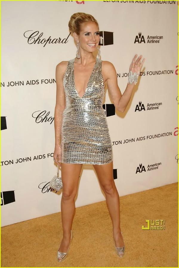 heidi klum seal elton john academy  10 haljina: Heidi Klum