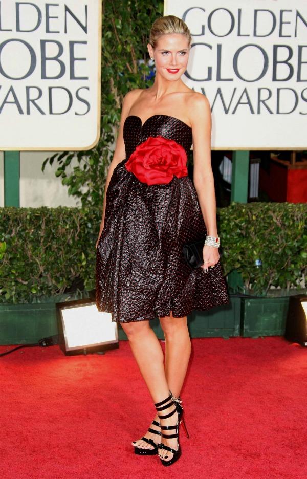 heidi klum vintage galanos picnik 10 haljina: Heidi Klum