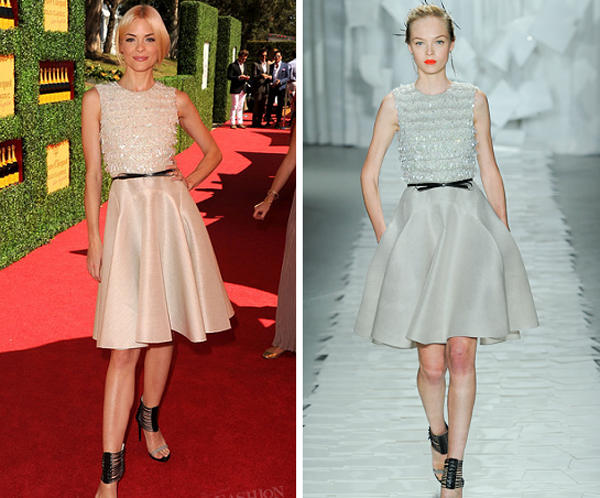 jaime king in jason wu veuve clicquot One nose: Jason Wu
