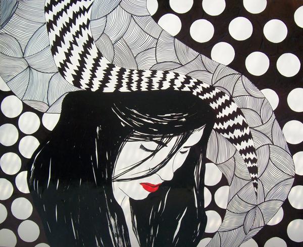 just a girl crtez uljanim markerima 45 x 54 cm 2012. Wannabe intervju: Marta Đekić