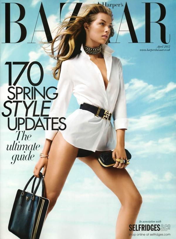 kajsa 1 Harper's Bazaar UK: Klasična lepota
