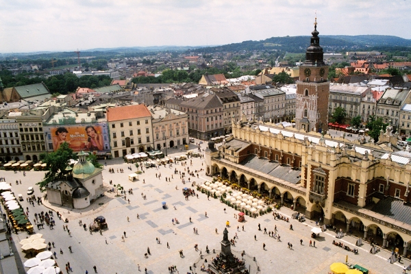krakov Klopajmo na ulici: Od Krakova do Gdanjska, preko Vroclava i Varšave