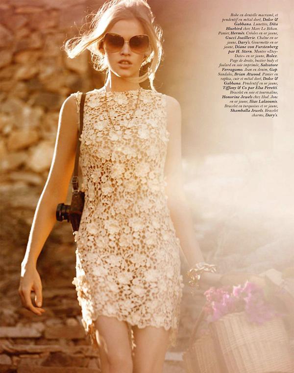 lara paris 4 Vogue Paris: Šetajući Rimom