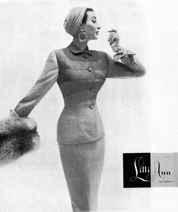 lilli ann 1953 dorian leigh Vintidž moda: Elegantna odela
