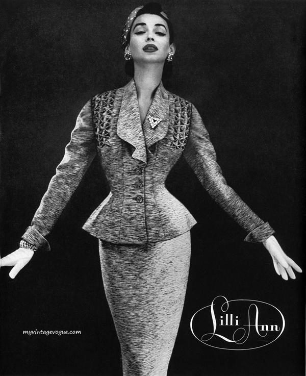 lilli ann 1955 dorian leigh Vintidž moda: Elegantna odela