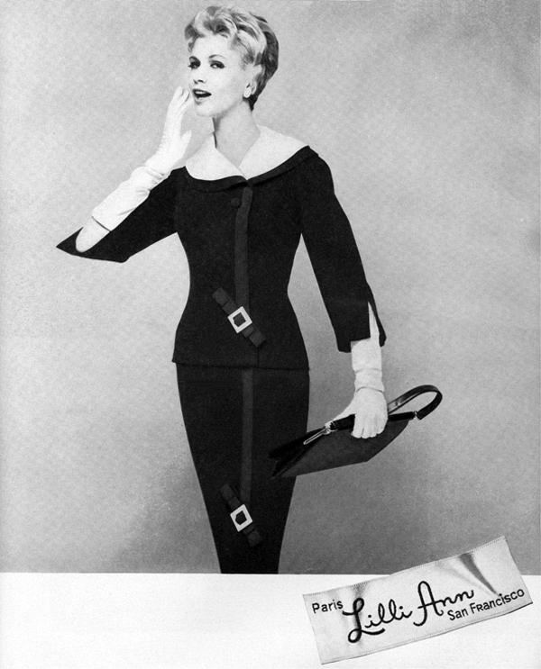 lilli ann 1959 Vintidž moda: Elegantna odela