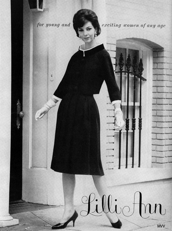 lilli ann 1960 Vintidž moda: Elegantna odela