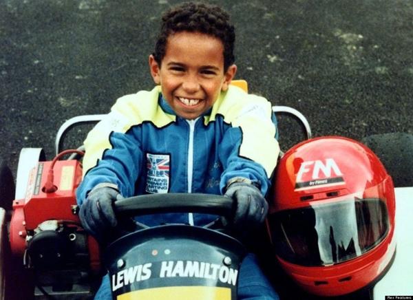 slika 16 Lewis Hamilton: Aždaja za volanom Formule 1