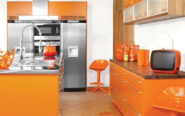 slika 216 Boje u enterijeru: Narandžasta