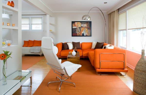 slika 67 Boje u enterijeru: Narandžasta