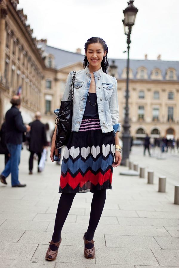 slika18 Street Style: Liu Wen