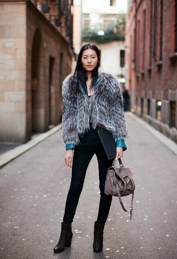 slika27 Street Style: Liu Wen