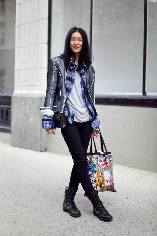 slika42 Street Style: Liu Wen