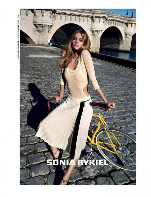 166 Sonia Rykiel: Šik vožnja biciklom