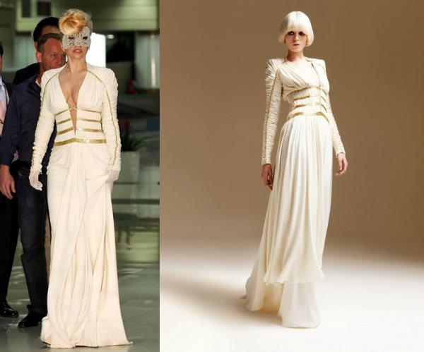 184 Modni zalogaji: Lady Gaga u haljini Versace i gola Alessandra Ambrosio