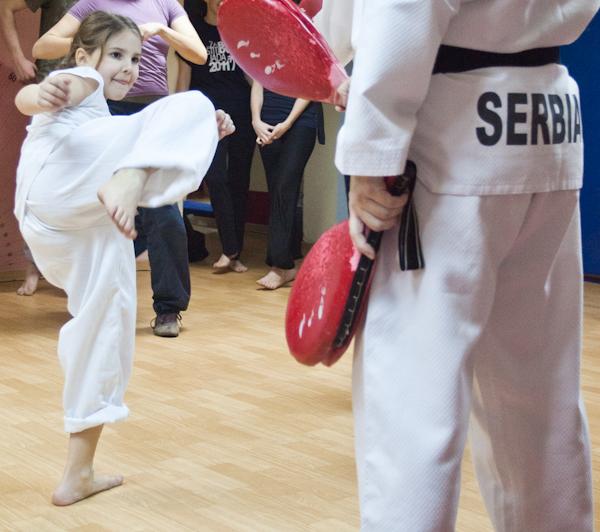 216 Kad udara Taekwondo