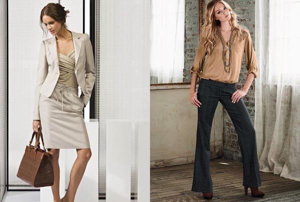 254 Poslovna moda: Ženske odevne kombinacije