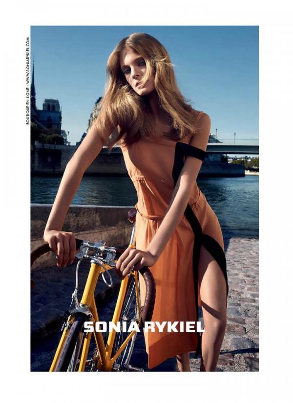 256 Sonia Rykiel: Šik vožnja biciklom