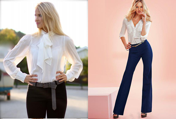 347 Poslovna moda: Ženske odevne kombinacije