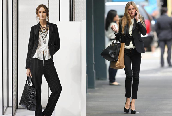 443 Poslovna moda: Ženske odevne kombinacije