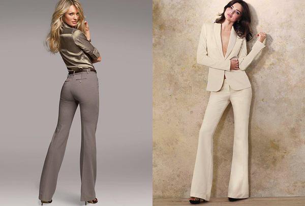 537 Poslovna moda: Ženske odevne kombinacije