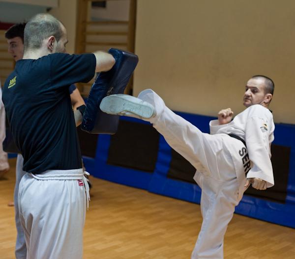57 Kad udara Taekwondo