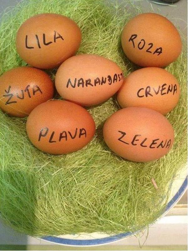 621 Nedeljna doza kreativnosti: Za najlepša uskršnja jaja