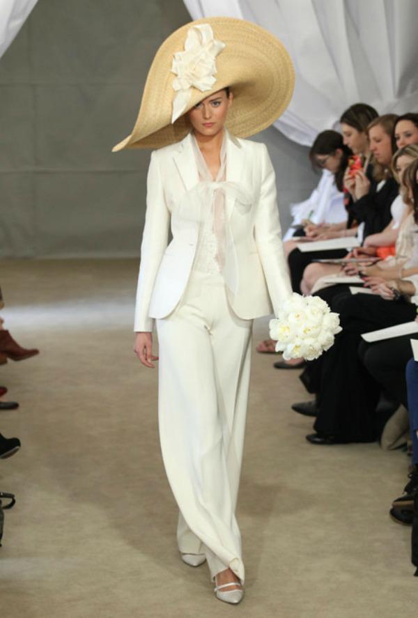 Carolina Herrera Bridal Collection Spring 2013 Nedelja venčanja u Njujorku