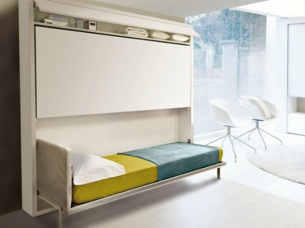 Contemporary Foldaway bed 665x499 Kreveti na sprat: Komfor i trend