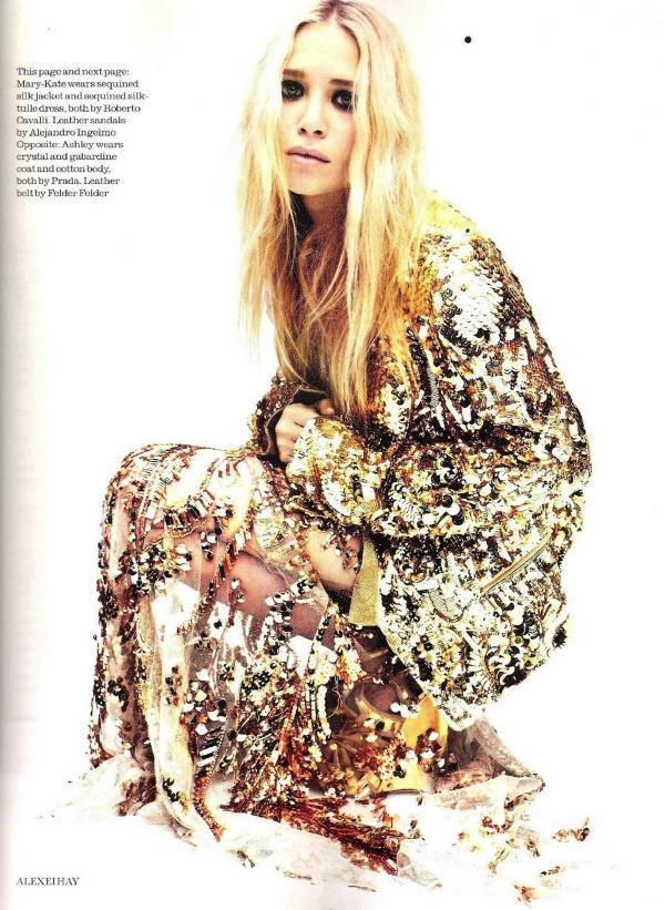 """Elle UK Ashley Olsen 3 """"Elle Uk"""": Sestre Olsen kao mlade ikone stila"""