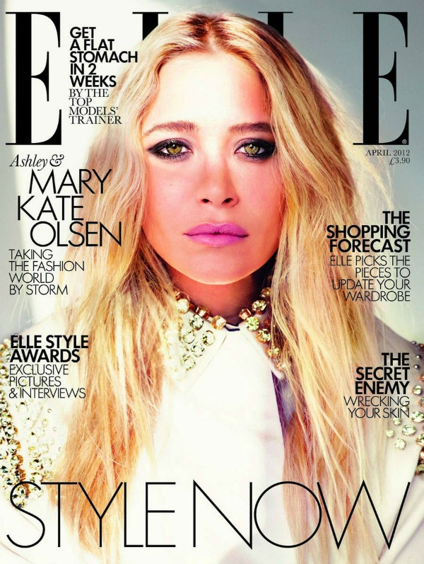 """Elle UK Mary Kate Olsen 1 """"Elle Uk"""": Sestre Olsen kao mlade ikone stila"""