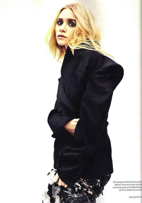 """Elle UK Mary Kate Olsen 2 """"Elle Uk"""": Sestre Olsen kao mlade ikone stila"""