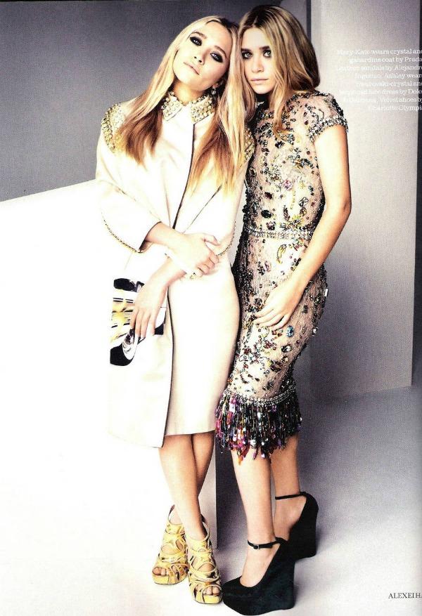 """Elle UK Olsen Sisters 2 """"Elle Uk"""": Sestre Olsen kao mlade ikone stila"""
