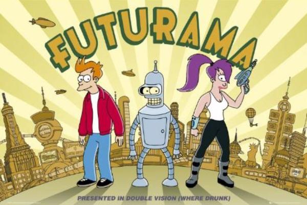 """Futurama 01 Animirani petak: """"Futurama"""""""