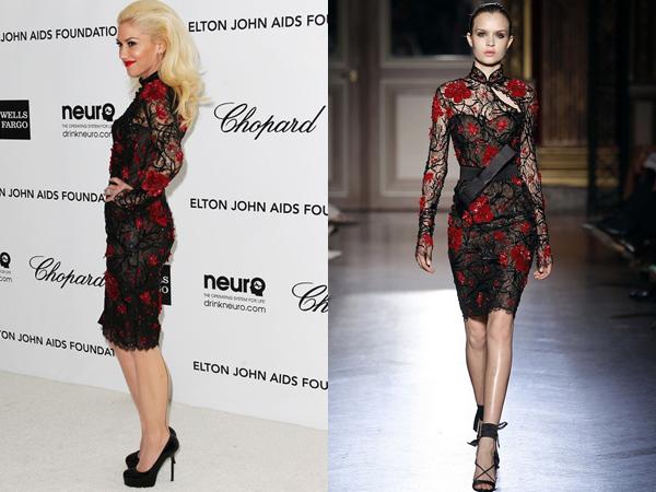 Gwen Stefani One nose: Zuhair Murad